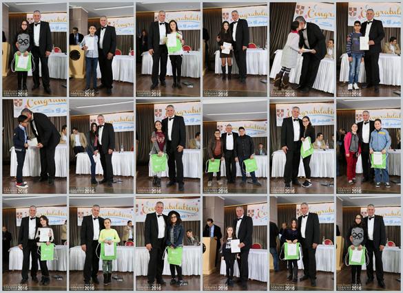 Cérémonie des remises de certificats du « Cambridge University Exams»