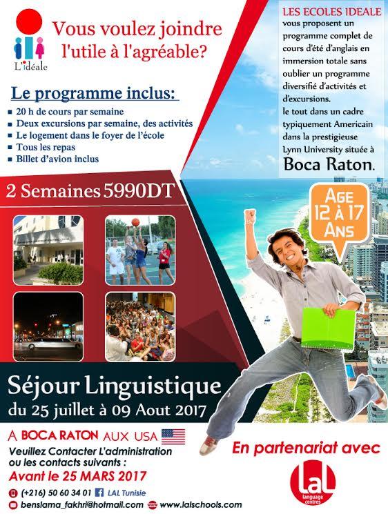 Séjour linguistique à Boca Raton
