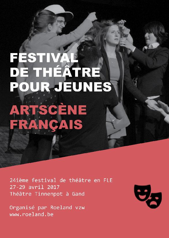 Festival international de théâtre scolaire ARTSCENE à GAND en Belgique
